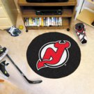 "NHL-New Jersey Devils 29"" Round Hockey Puck Rug"