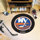"NHL-New York Islanders 29"" Round Hockey Puck Rug"