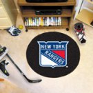 "NHL-New York Rangers 29"" Round Hockey Puck Rug"