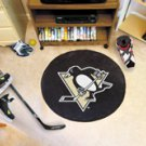 "NHL-Pittsburgh Penguins 29"" Round Hockey Puck Rug"