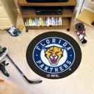 "NHL-Florida Panthers 29"" Round Hockey Puck Rug"