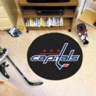 "NHL-Washington Capitals 29"" Round Hockey Puck Rug"