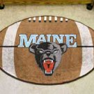 "University of Maine 22""x35"" Football Shape Area Rug"