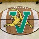 "University of Vermont 22""x35"" Football Shape Area Rug"