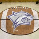 "University of New Hampshire 22""x35"" Football Shape Area Rug"