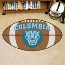 "Columbia University 22""x35"" Football Shape Area Rug"
