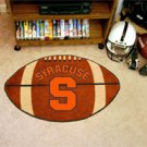 "Syracuse University 22""x35"" Football Shape Area Rug"