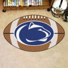 "Penn State University PSU Nittany Lions 22""x35"" Football Shape Area Rug"