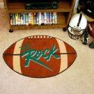 "Slippery Rock University SRU The Rock  22""x35"" Football Shape Area Rug"