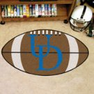 "University of Delaware UD 22""x35"" Football Shape Area Rug"