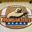 "Morgan State University Bears 22""x35"" Football Shape Area Rug"