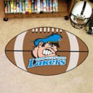 """Grand Valley State University Lakers 22""""x35"""" Football Shape Area Rug"""