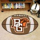 "Bowling Green State University 22""x35"" Football Shape Area Rug"