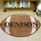 "Denison University 22""x35"" Football Shape Area Rug"