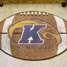 "Kent State University  22""x35"" Football Shape Area Rug"
