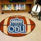 "Old Dominion University ODU 22""x35"" Football Shape Area Rug"