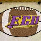 "East Carolina University ECU Pirates 22""x35"" Football Shape Area Rug"
