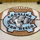 "UNC University of North Carolina Chapel Hill RamTar Heels 22""x35"" Football Shape Area Rug"