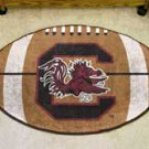 "University of South Carolina 22""x35"" Football Shape Area Rug"