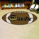 "Kennesaw State University Owls 22""x35"" Football Shape Area Rug"