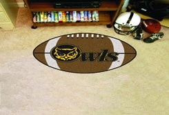 "Kennesaw State University Owls 22""x35"" Football Shape Area Rug"