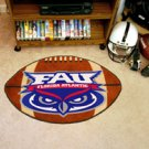 "Florida Atlantic University FAU 22""x35"" Football Shape Area Rug"