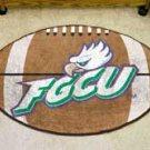 "Florida Golf Coast University FGCU 22""x35"" Football Shape Area Rug"