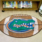 "University of Florida   22""x35"" Football Shape Area Rug"