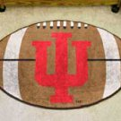 "Indiana University IU 22""x35"" Football Shape Area Rug"