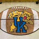 """University of Kentucky UK 22""""x35"""" Football Shape Area Rug"""