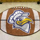 "University of Tennessee Chattanooga  22""x35"" Football Shape Area Rug"