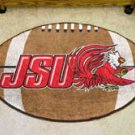 "Jacksonville State University JSU  22""x35"" Football Shape Area Rug"