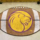 "University of North Alabama UNA Lions 22""x35"" Football Shape Area Rug"