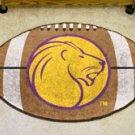 "University of North Alabama UNA Lions 22""x35"" Football Shape Area Rug"