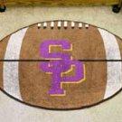 "University of Wisconsin Stevens Point 22""x35"" Football Shape Area Rug"