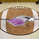 "University of Wisconsin Whitewater Warhawks 22""x35"" Football Shape Area Rug"