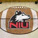 """Northern Illinois University NIU 22""""x35"""" Football Shape Area Rug"""