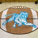 "Jackson State University 22""x35"" Football Shape Area Rug"