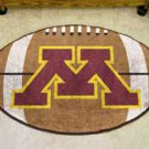 "University of Minnesota 22""x35"" Football Shape Area Rug"