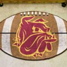 """University of Minnesota Duluth 22""""x35"""" Football Shape Area Rug"""