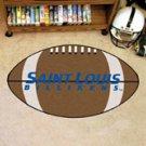 "Saint Louis University Billikens 22""x35"" Football Shape Area Rug"