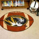 "University of Missouri 22""x35"" Football Shape Area Rug"