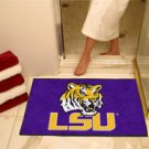"Louisiana State University LSU 22""x35"" Football Shape Area Rug"
