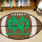 "University of North Dakota 22""x35"" Football Shape Area Rug"