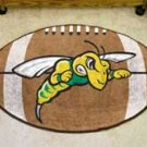 "Black Hills State University 22""x35"" Football Shape Area Rug"