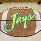 "Creighton University Jays 22""x35"" Football Shape Area Rug"