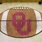 "University of Oklahoma Sooners 22""x35"" Football Shape Area Rug"