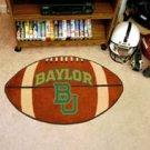 "Baylor University 22""x35"" Football Shape Area Rug"