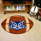 "Rice University 22""x35"" Football Shape Area Rug"