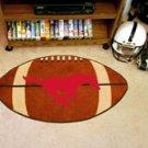 "Southern Methodist University 22""x35"" Football Shape Area Rug"